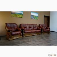Кожаная мягкая мебель от европейских производителей