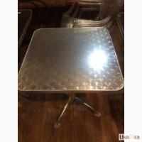 Продам алюминиевые столы бу для кафе