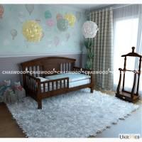 Детская кровать Каролина из натурального дерева