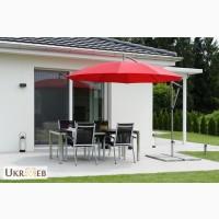 Зонт круглый с боковой опорой