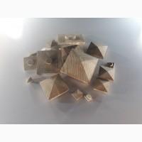 Заглушка деревянная квадратная Пирамида