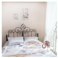 Кованая кровать с матрасом 160х200см