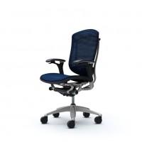 Офисные Кресла CONTESSA OKAMURA Dark Blue в синий сетке