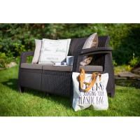 Corfu Love Seat голландська мебель из искусственного ротанга