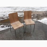 Деревянные стулья б/у на металлических ножках мебель бу в ресторан кафе