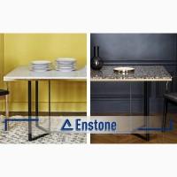 Обеденный стол (искусственный камень акрил) на заказ. Кухонный стол из акрила под заказ