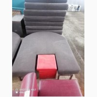 Продам диван низкий- топчан б/у коричневого цвета