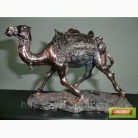 Статуэтка Верблюд 22см помедненная — символ богатства