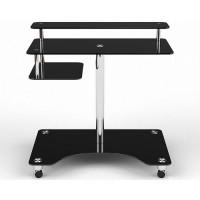 Стеклянный компьютерный стол Галатея