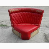 Диван угловой б.у, красные диваны, мягкая модульная мебель бу для кафе ресторана