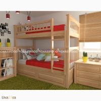 Детские двухэтажные кроватки