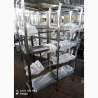 Стеллаж сушка 4 полки из нержавеющей стали (AISI 201)