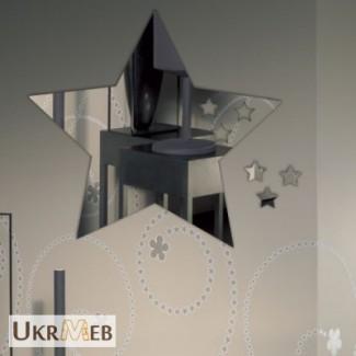 Зеркало декоративное фигурное под заказ в Лисичанске