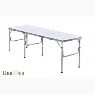 Раскладной стол для пикника, кемпинга, туристический. 180 60 70см
