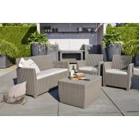Corona Set With Cushion Box голландська мебель из искусств ротанга
