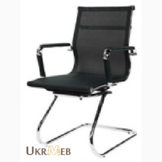 Конференц-кресло Q-07CF сетка купить киев, конференционное кресло Q-07CF сетчатой обивке