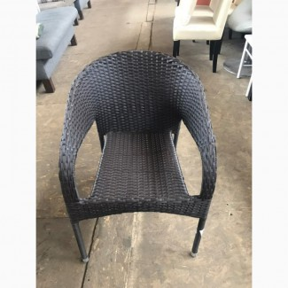 Продам бу кресло из искусственного ротанга