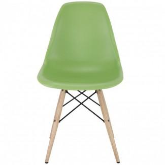 Пластиковый стул Тауэр Вуд, зелёный