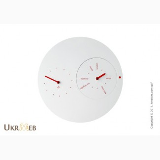 Неординарные часы на стену Progetti Jetlag интернет-магазин