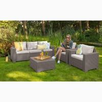 California 3 Seater Set голландська мебель из искусственного ротанга