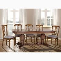 Столы обеденные из натурального дерева (бук)