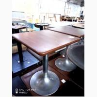 Продам столы б/у МДФ на алюминиевой ноге