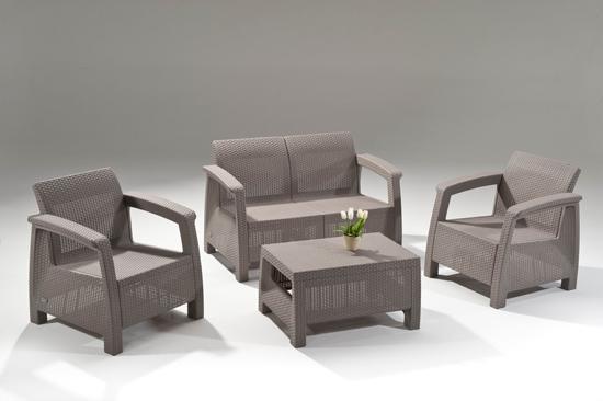 Фото 10. Corfu Set голландська мебель из искусственного ротанга