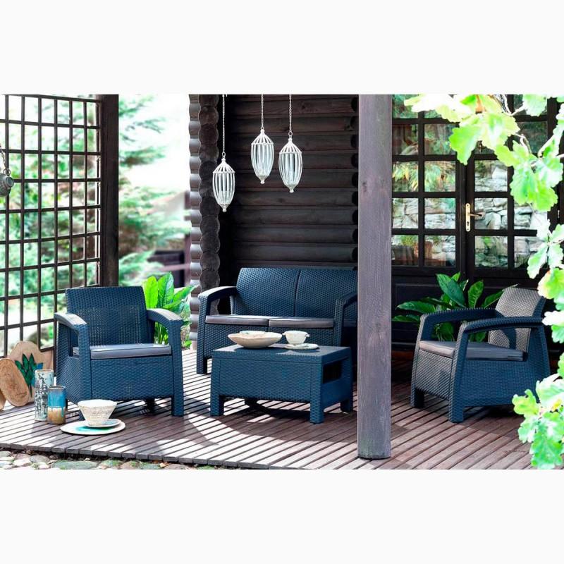 Фото 12. Corfu Set голландська мебель из искусственного ротанга