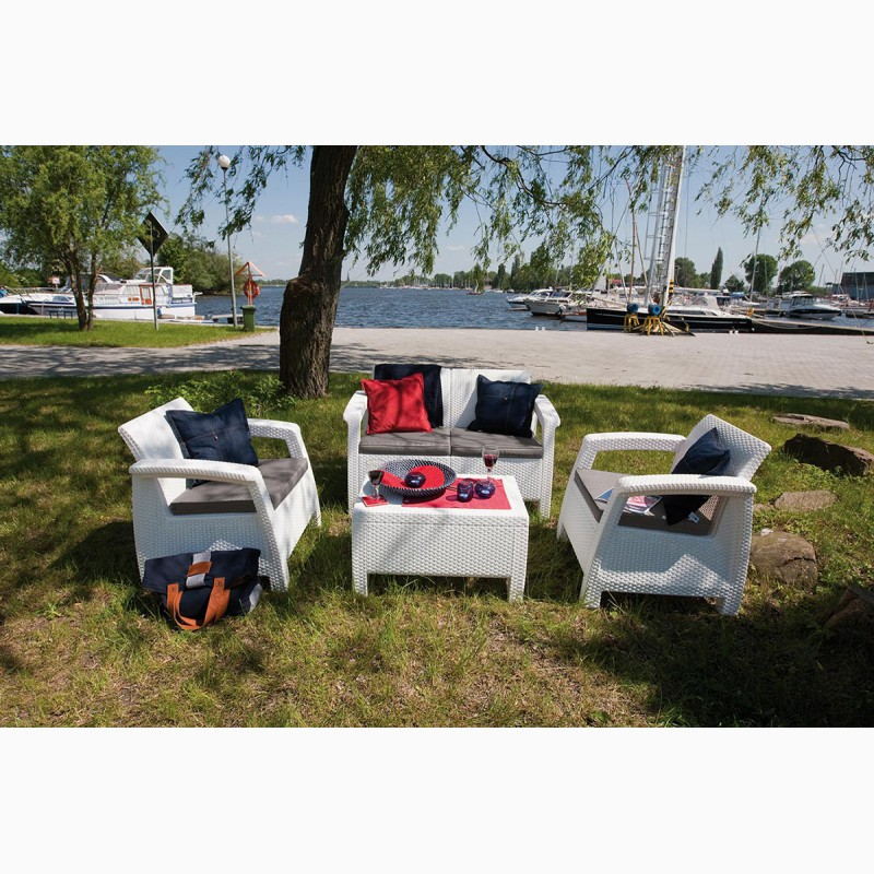 Фото 16. Corfu Set голландська мебель из искусственного ротанга