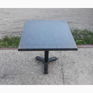 Стол верзалитовый б/у серый, мебель бу в столовую кафе ресторан