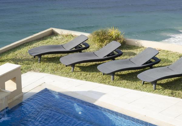 Фото 18. Шезлонги пляжные пластиковые, искусственый ротанг для бассейнов, для дома, для дачи