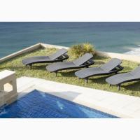 Шезлонги пляжные пластиковые, искусственый ротанг для бассейнов, для дома, для дачи