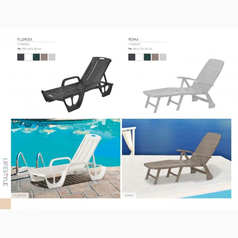 Фото 9. Шезлонги пляжные пластиковые, искусственый ротанг для бассейнов, для дома, для дачи