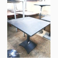 Стол металлический б/у темно-серого