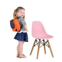 Детский стульчик Тауэр Baby, пластик, дерево, цвет розовый, голубой
