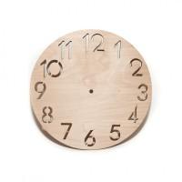 Циферблат для часов из фанеры - заготовка для творчества, декора