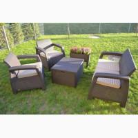 Corfu Box Set голландська мебель из искусственного ротанга