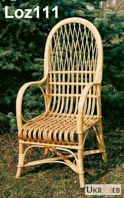 Пошаговое плетение кресла из лозы
