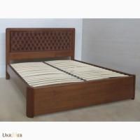 Надежная двуспальная кровать Джулия из массива ясеня