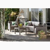 Orlando Set With Small Table мебель из искусственного ротанга