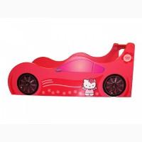 Кровать машина Hello kitty Детская кровать машина.Forsage. БЕСПЛАТНО доставка