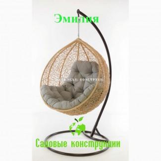 Кресло-кокон из ротанга Мукачево