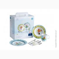 Набор посуды для детей из коллекции Chewy around the world от «Villeroy Boch»