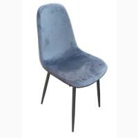 М#039;який стілець Велюр, сірий