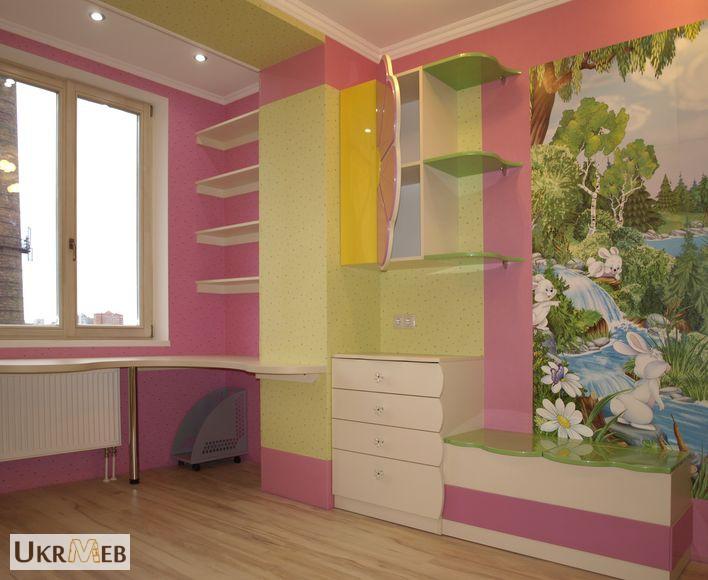 Фото к объявлению: детские комнаты на заказ - ukrmeb.