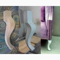 На заказ фигурные точеные ножки опоры из дерева для корпусной мягкой деревянной мебели