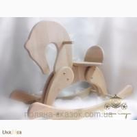 Эксклюзивные лошадки - качалки от производителя ТМ Поляна Сказок
