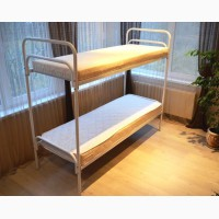 Ліжка металеві бюджетні. Недороге двоярусне ліжко
