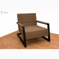 Кресло Lobby из искусственного ротанга