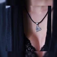 Срібний кулон оберіг «Сокира Перуна»